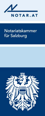 Logo Notariatskammer Salzburg - Richtig Vererben Logo