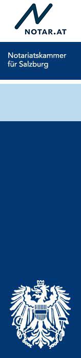 Logo Notariatskammer Salzburg - Logo Richtig Vererben