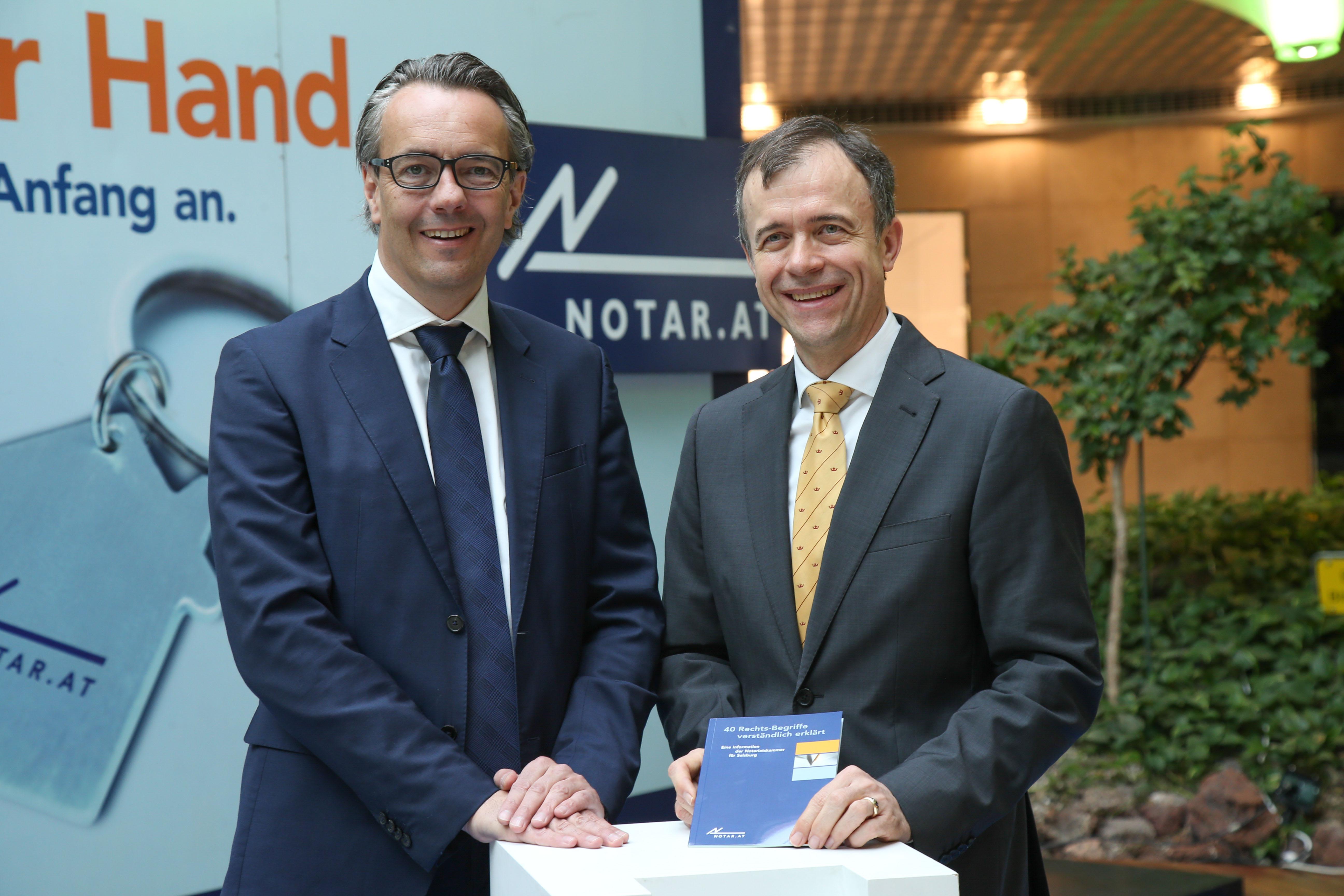 Informationstag der Notariatskammer für Salzburg im Einkaufszentrum Europark.